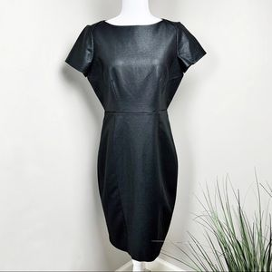 Tahari Sheath Mixed media Black Dress Size 12